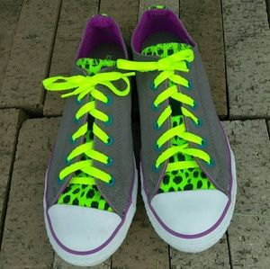 Converse Double Tongue All Star Shoes Size 5